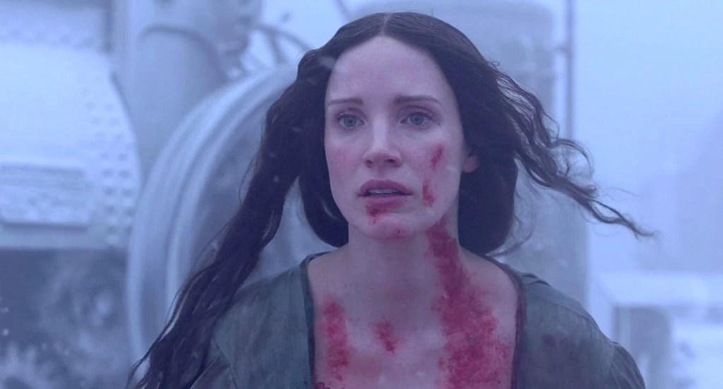 Jessica Chastain in Crimson Peak