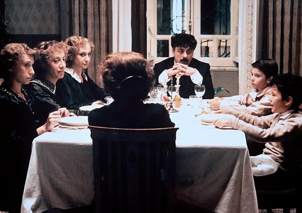 La famiglia, una scena del film