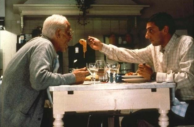 Vittorio Gassman e Sergio Castellitto