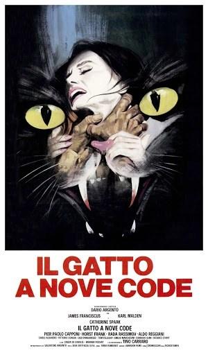 Il gatto a nove code la locandina del film