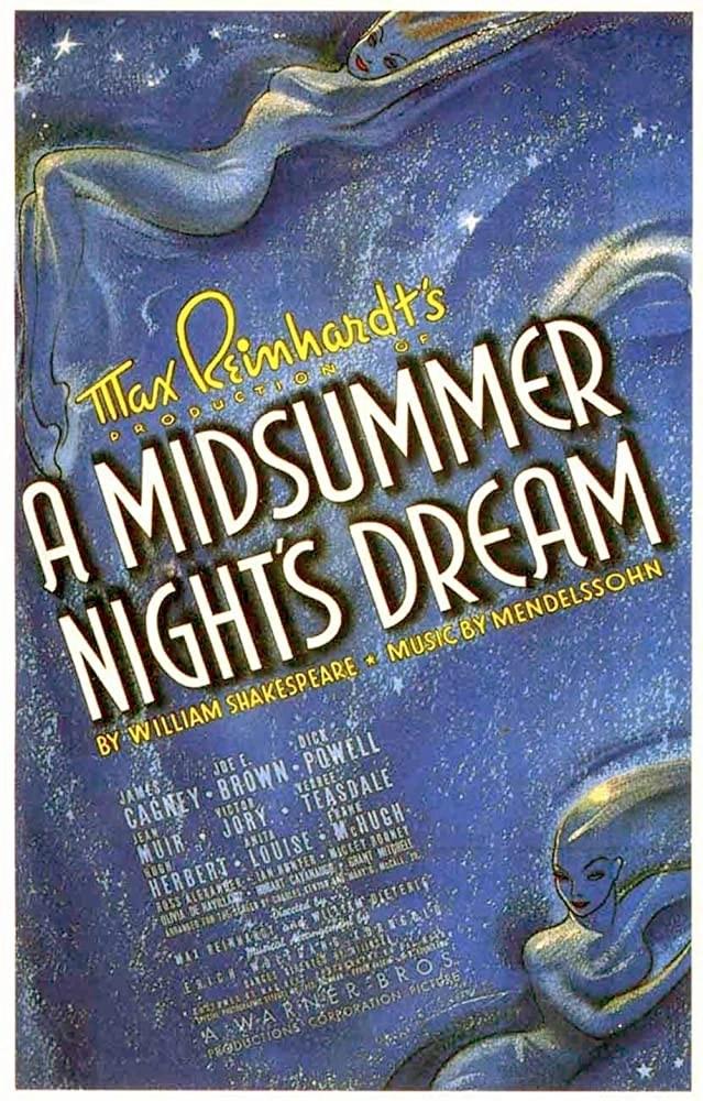 Sogno di una notte di mezza estate locandina film