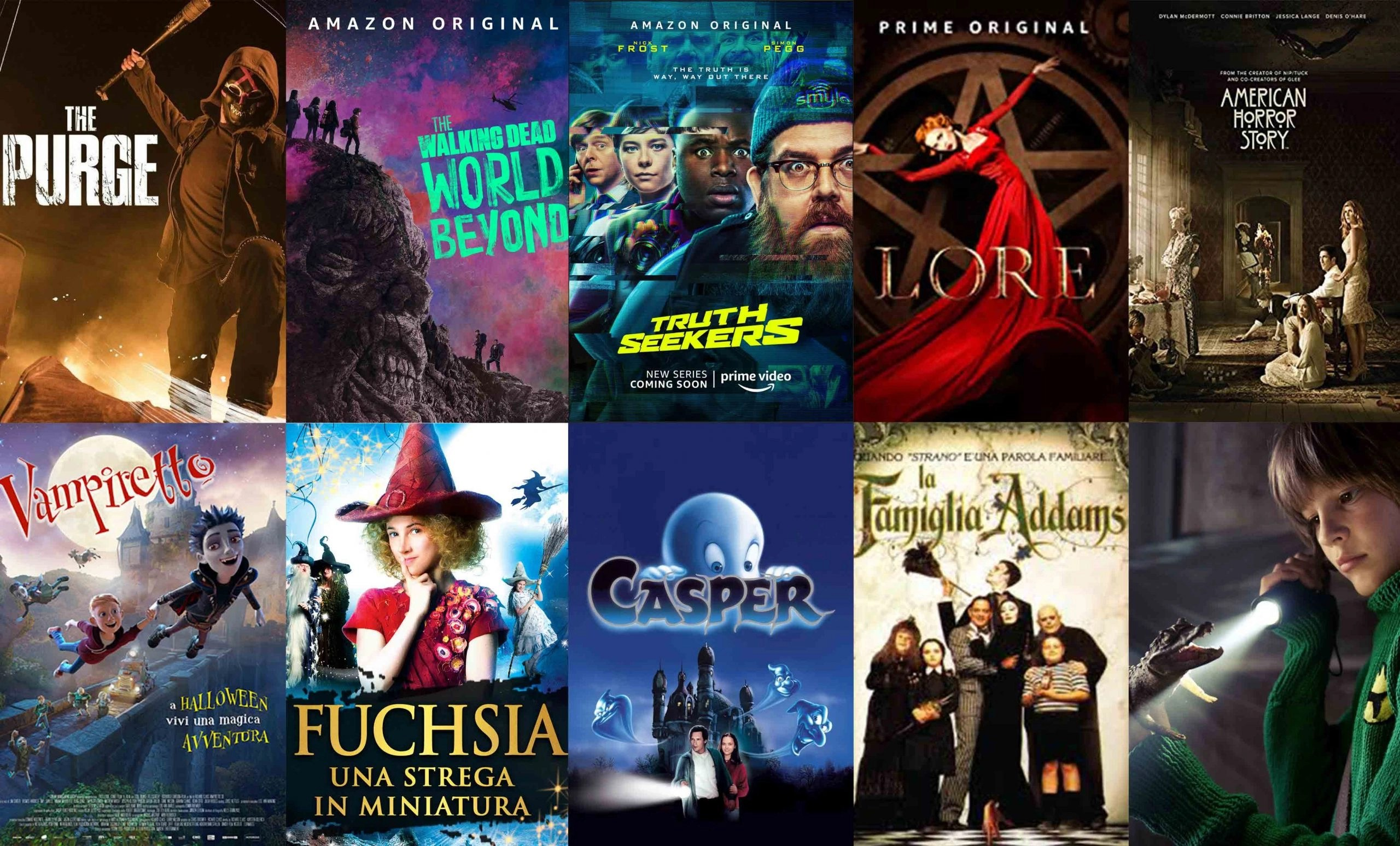 Prime video film horror per ragazzi