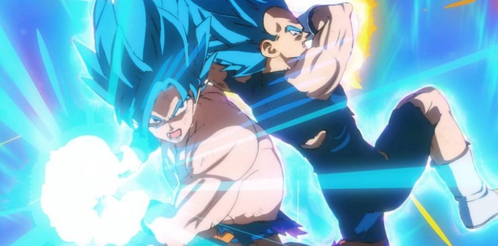 Goku e Vegeta in una scena del film - Dragon Ball Super : Broly
