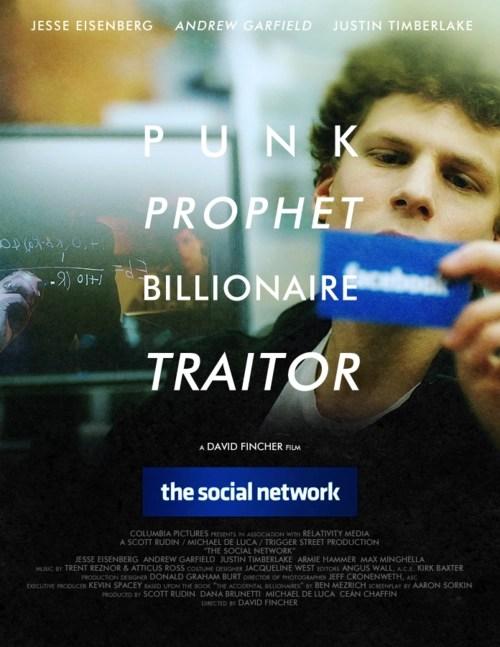 The Social Network locandina