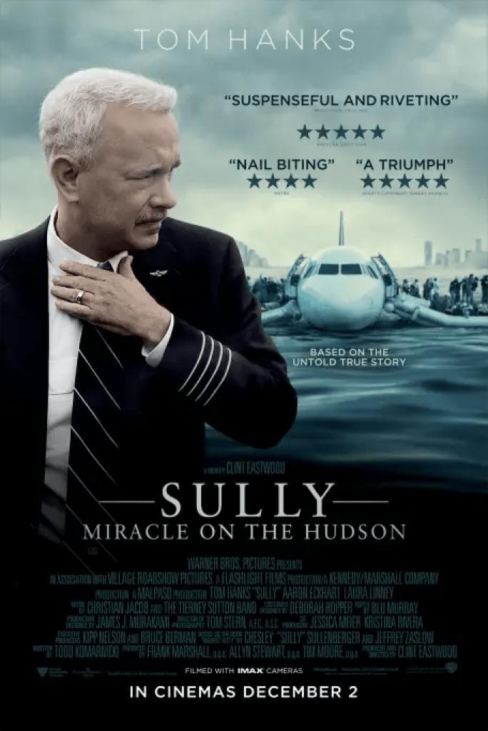Sully (2016): Tributo a un eroe introverso 1