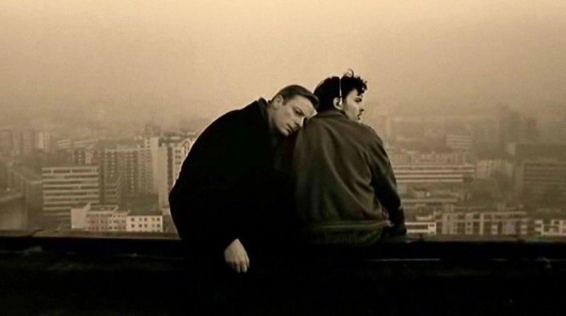 Scena del film il cielo sopra berlino