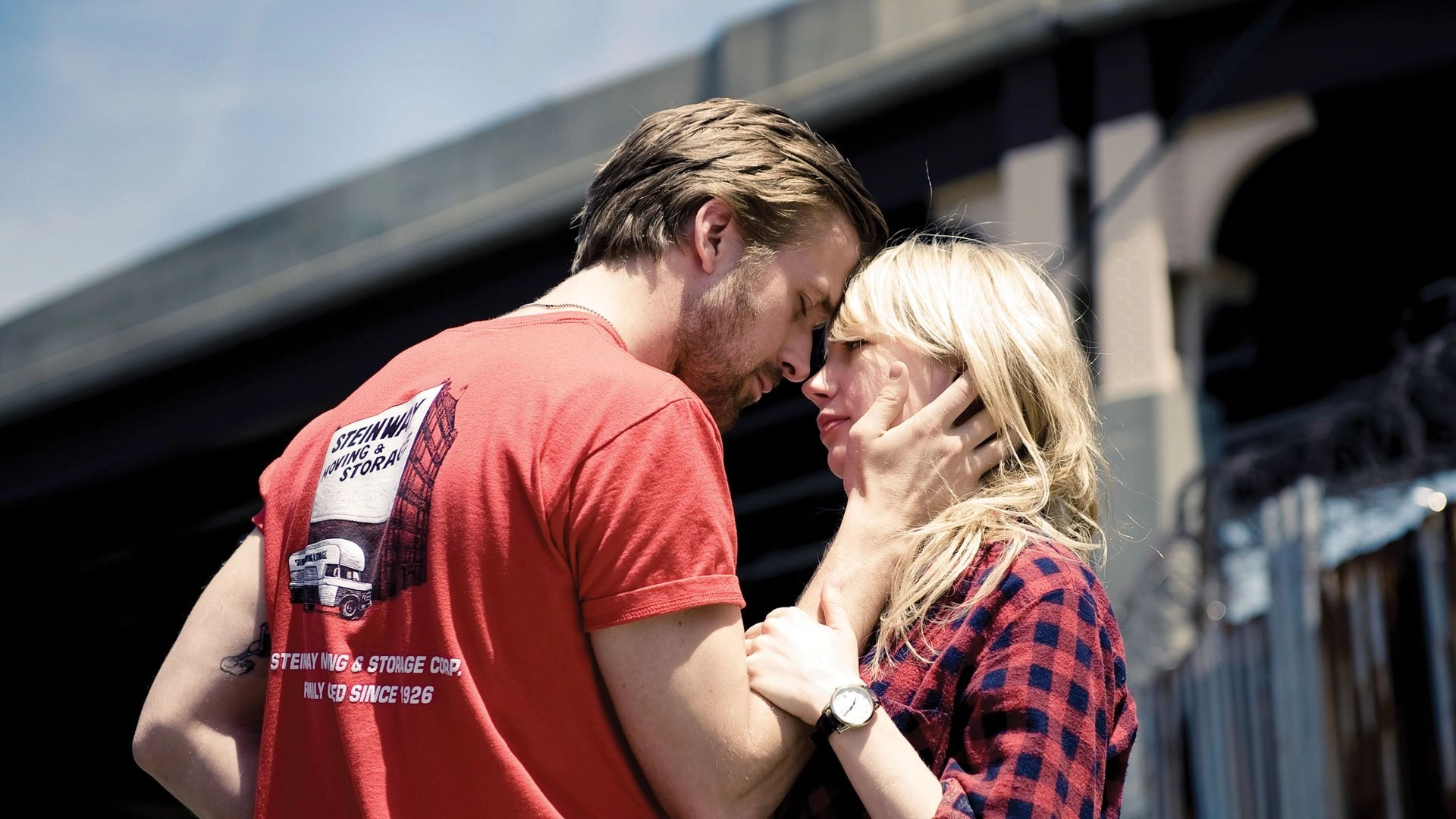 Ryan Gosling e Michelle Williams in Blue Valentine (2010)