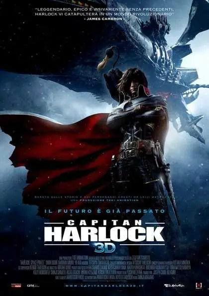 Capitan Harlock locandina