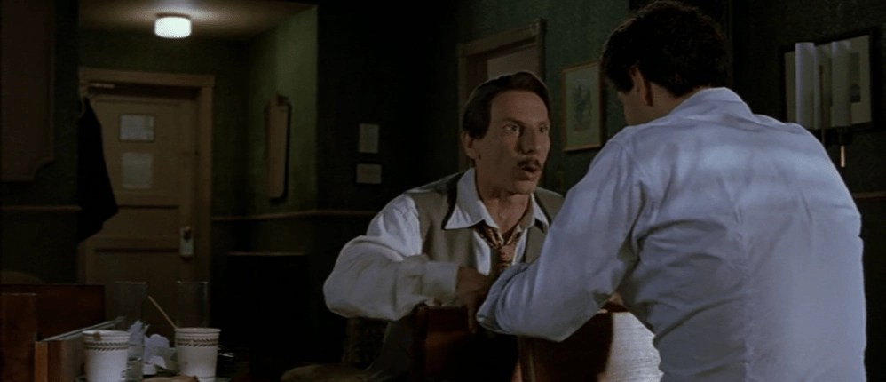 Johnny (Giovanni Storti) e Al (Aldo Baglio) in una scena del film - La leggenda di Al, John e Jack