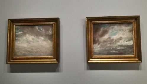 John Constable, Étude de Nuage, Vers 1821
