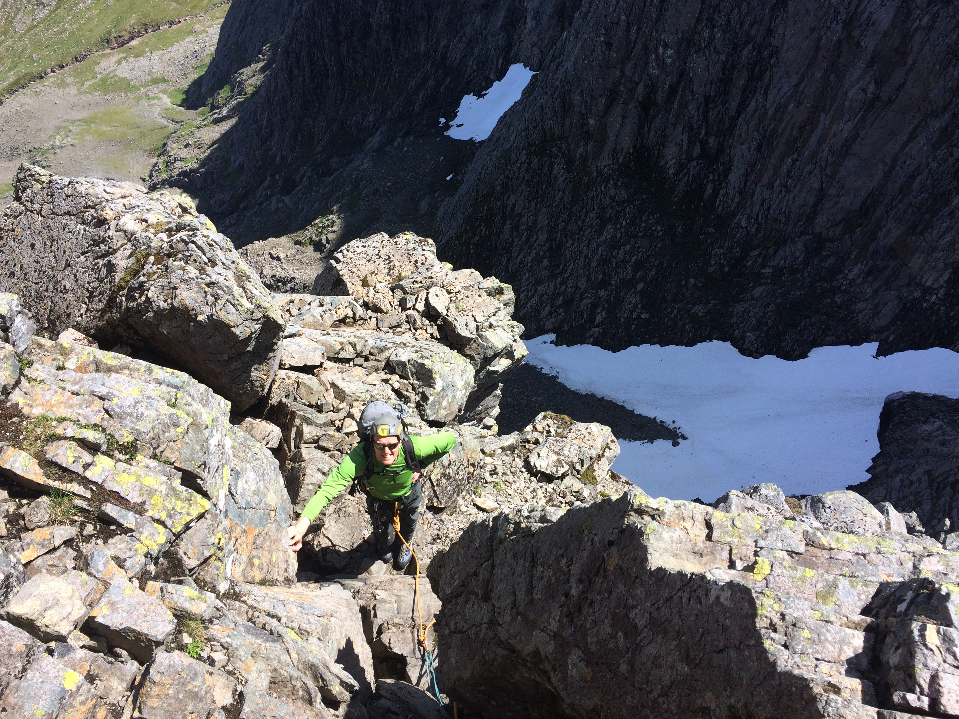 Tower Ridge, Ben Nevis with a Tower Ridge Guide, Lochaber Guides, Tower Ridge Guided Climb, Tower Ridge Mountain Guide