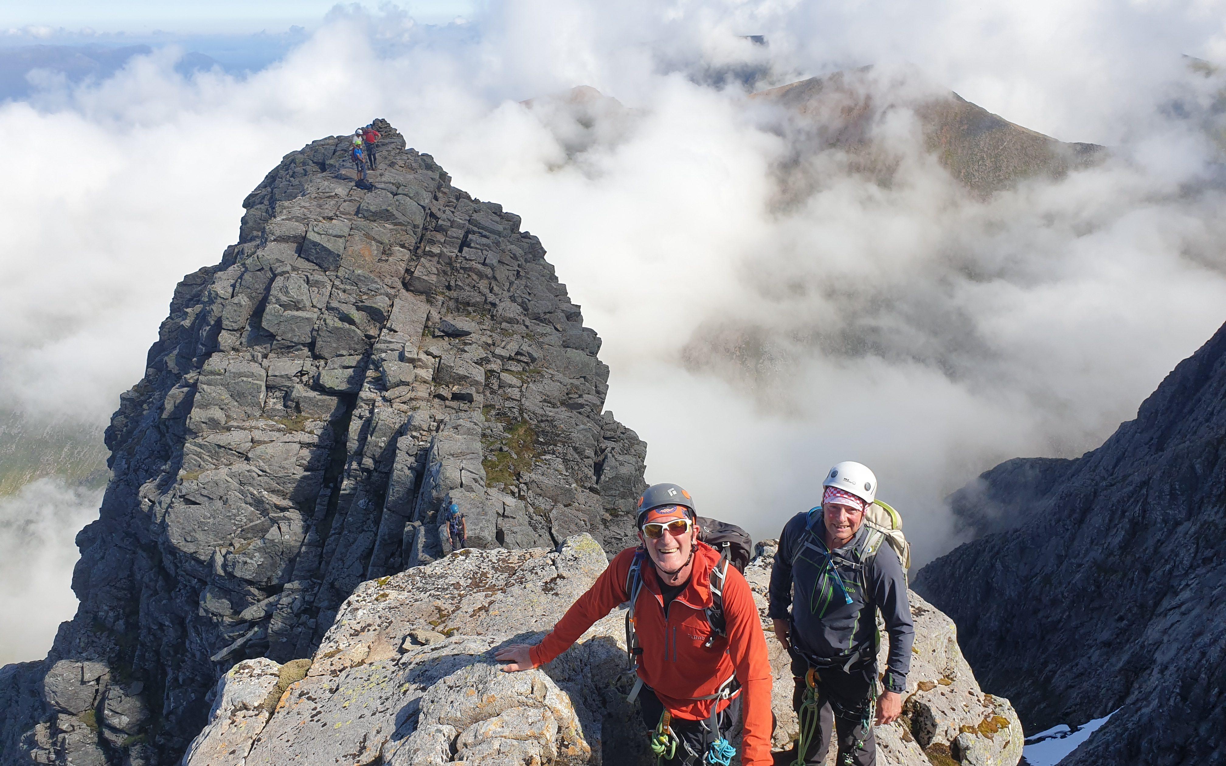 Tower Ridge, Ben Nevis, Tower idge Guide, Tower Ridge Mountain Guide