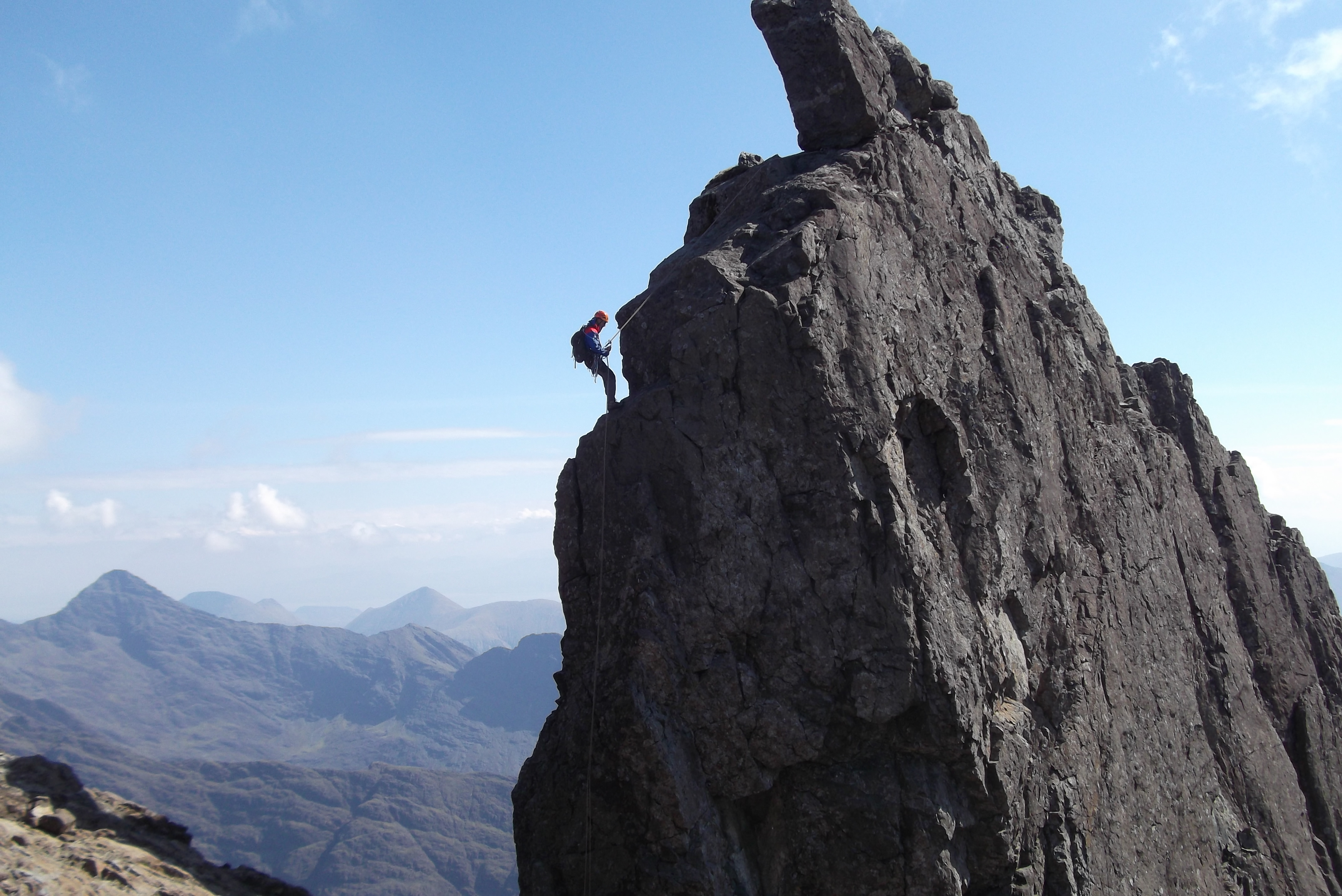 Inaccessible Pinnacle Guide, Guided ascent of the Inaccessible Pinnacle, Skye Cuillin Ridge Guide