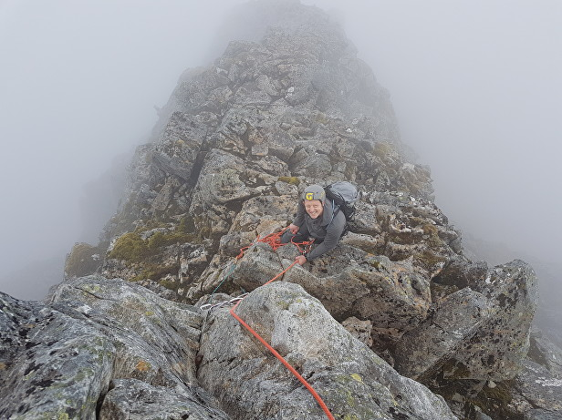 Climb North East Buttress, Ben Nevis with a North East Buttress Guide from Lochaber Guides. Experience this Great Ridge of Ben Nevis with a qualified professional.