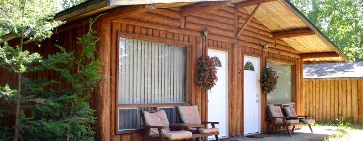 Log Cabins - Loch Island Lodge and Camp Lochalsh - Ontario Fishing