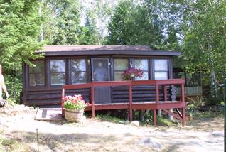 The George Perrot Cabin 1 at Camp Lochalsh - Ontario Fishing - Wabatongushi Lake