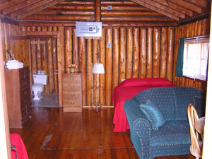 Camp Lochalsh Cabin 5 Interior - Ontario Fishing - Wabatongushi Lake