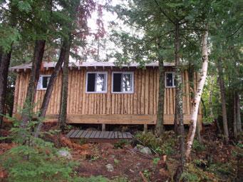 Loch Island Cabin #6 - Exterior, Wabatongushi Lake, Ontario