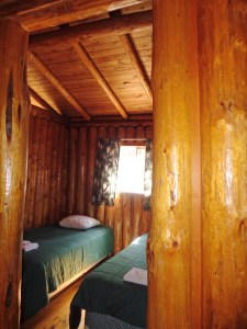 Otter Island Big Cabin Bedroom