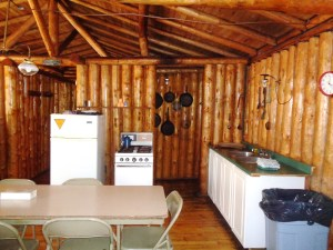 Otter Island Big Cabin Kitchen