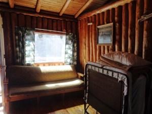 Otter Island Big Cabin Living Room