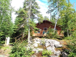 Otter Island Small Cabin Front 3