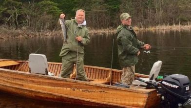 Fishing is more fun with friends and family! (Photo courtesy of Brandon Fields)