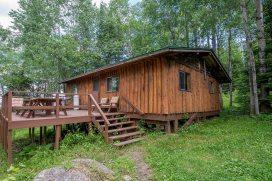 Camp Lochalsh Cabin 7 Deck