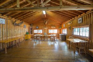 Camp Lochalsh Fall Dining Room