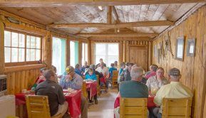 Loch Island Lodge Dining Room