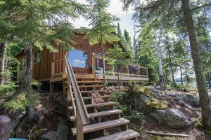 Otter Island 2 Bedroom Cabin From Water