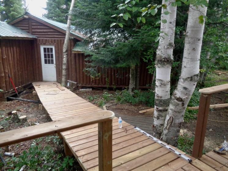 Cabin #6 Walkway