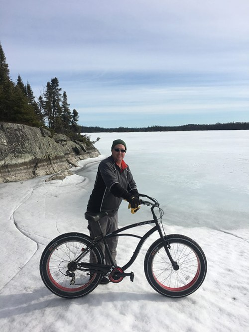 Otter Island by Fat Tire Bike, April 2017