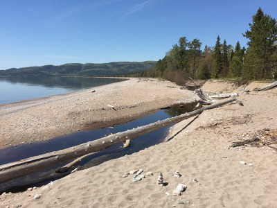 Agawa Bay Visitor Center Beach