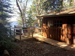 New Deck on Cabin 2