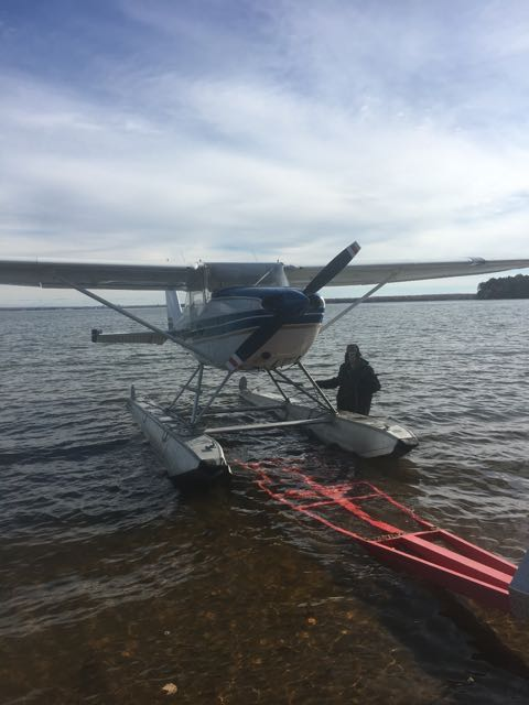 Floatplane coming out for winter