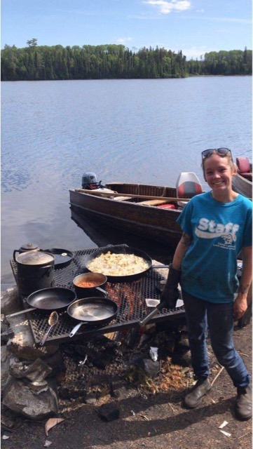 Kathleen Shore Lunch Site - Fall 2019