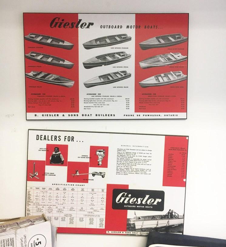 Giesler historic poster