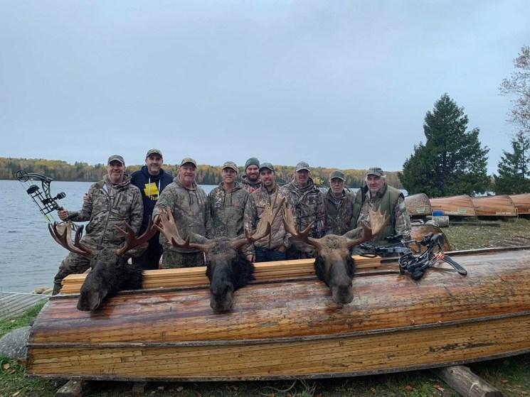 Nicholls Crew Archery Moose Hunt 2020