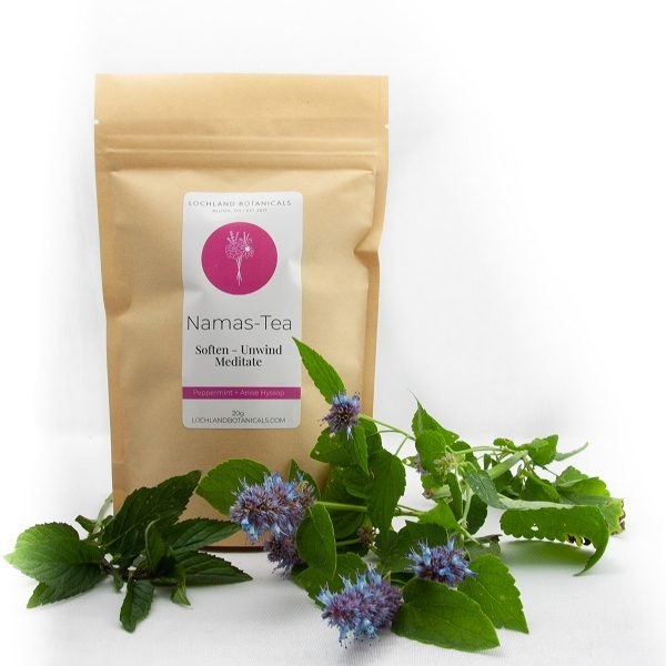 namas-tea namaste tea fresh loose leaf tea to help you relax