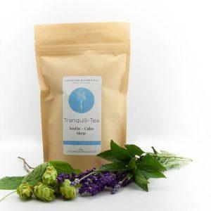 tranquili-tea loose leaf tea to help soothe nerves and sleep