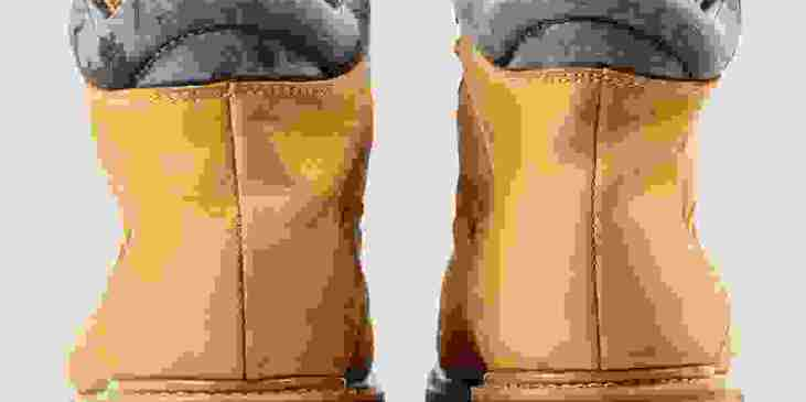 Tracking boots rear view