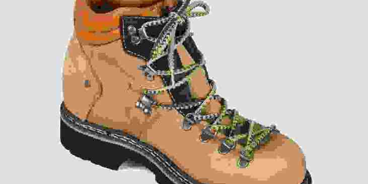 Outdoor boots detail