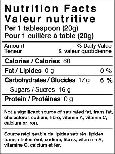 honey-nutri-label