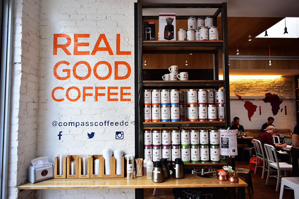 Image result for compass coffee