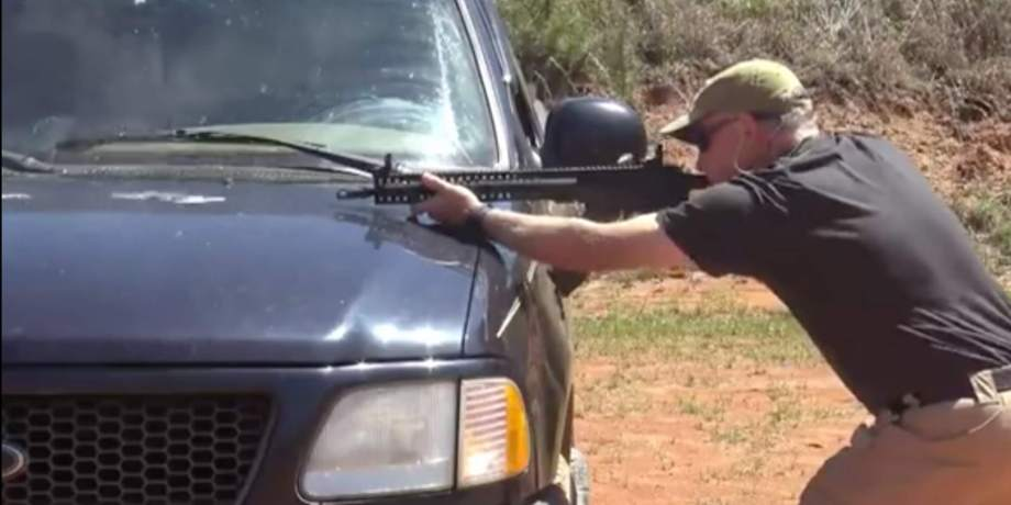sootch00 Shoots His Truck – Remember, Rifle Sights are Higher than the Barrel
