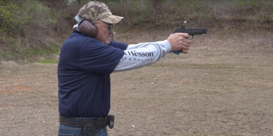 How to Draw a Pistol from a Holster with Jerry Miculek