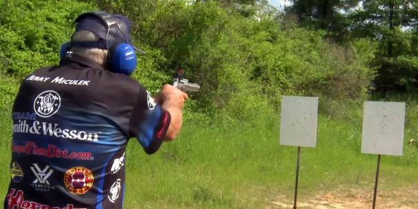 16 Rounds from a Revolver in 4 Seconds by Jerry Miculek