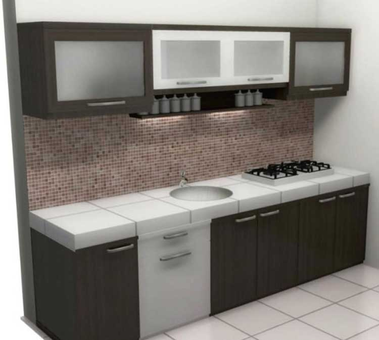 Kitchen Set Dapur Mini Bar