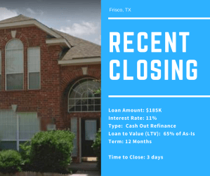 Recent Closing - Frisco - 02.07.18